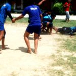 Participating in Kabaddi Match