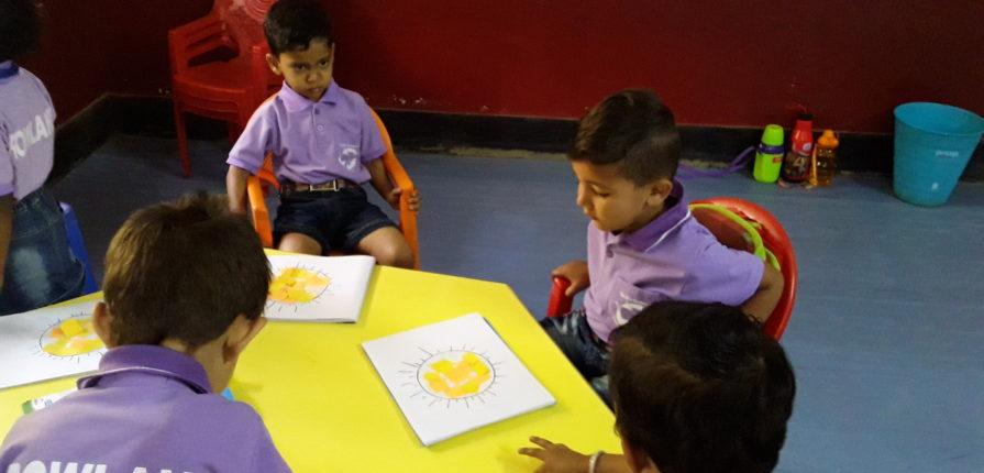 Yellow Day Class Activity